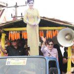 Dalam Rangka HUT RI Ke-74, Pemkab Minsel Gelar Pawai Pembangunan
