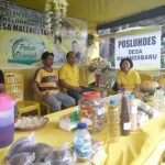 Ikut kegiatan Pekan Daerah Tani dan Nelayan, Desa Malbar Perkenalkan Potensi Pertanian Desa