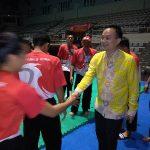 Termotivasi Kunjungan Wamen Jerry Sambuaga, 6 Atlet Silat Sulut Lolos ke PON XX-2020