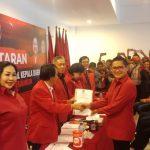 Joune Ganda Bakal Calon Bupati Tunggal PDIP Di Minahasa Utara