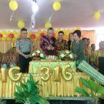 Desa Koreng Rayakan HUT ke 316, FDW Putra iggi Resmikan Tugu Watu'Tumani'