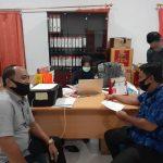 Deteksi Dini Penyebaran covid-19, Jumat Bawaslu Bitung Gelar Rapid test